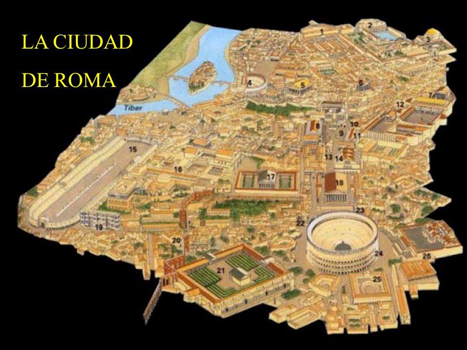 LA CIUDAD DE ROMA http://www.elhistoriador.es/romaforo.htm [con la lista de los lugares]